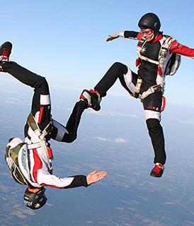 Freefly chute libre