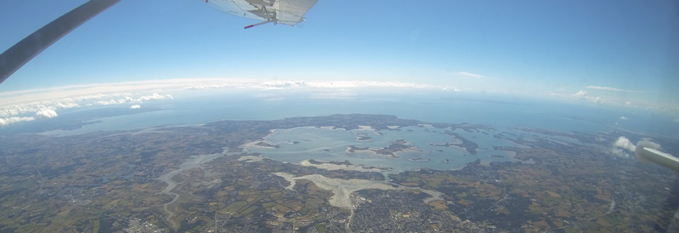 Vue Golfe du Morbihan